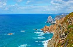 The coast of Cape Roca Royalty Free Stock Photos