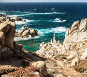 Coast of capo testa - sardinia, italy Stock Photography