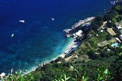 Coast of Capri Stock Photos