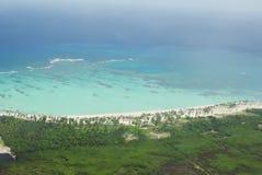 Coast of the Caribbean island Stock Photography
