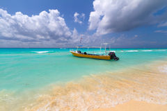 Coast of Caribbean Sea Royalty Free Stock Images