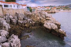 coast Cascais Royalty Free Stock Photography