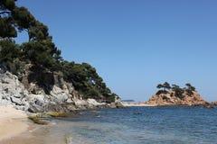 Coast in Catalonia ,Spain Royalty Free Stock Image