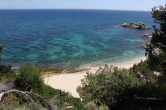 Coast in Catalonia ,Spain Stock Photo