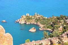 Coast of Cefalu' Stock Image