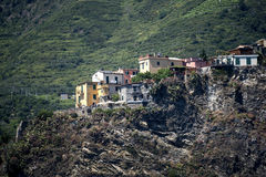 The Coast of the Cinque Terra or Five Lands in Liguria Italy Stock Photos