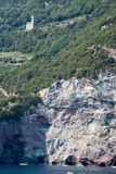 The coast of Cinque Terre on Liguria Stock Image