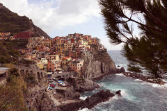 The coast of a city in Italy Stock Photo
