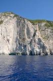 Coast cliff scenery Stock Image