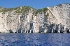 Coast cliff scenery Stock Photo
