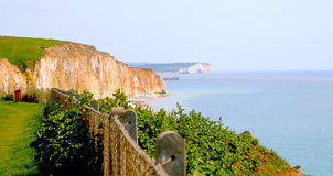The coast and the cliffs of England Royalty Free Stock Image