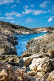 Coast and cliffs of Malta. The coasts and cliffs of of Malta are very nice for a trip Royalty Free Stock Photo