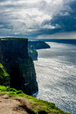 Coast at the Cliffs Of Moher In Ireland Stock Images