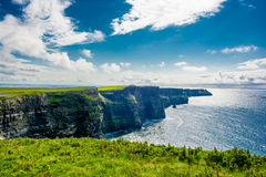 Coast at the Cliffs Of Moher In Ireland Royalty Free Stock Photo