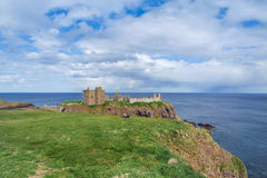 Coast with cliffs near Stonehaven Royalty Free Stock Photography