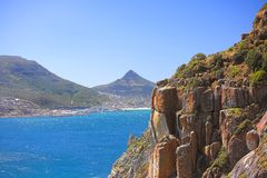 Coast  - close to Cape Town Royalty Free Stock Photography