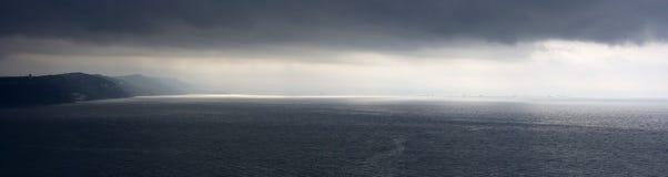 Coast close to Triest, Italy Stock Photos