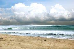 Coast_cloud de mer Image libre de droits
