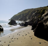 Coast cornwall Stock Photography