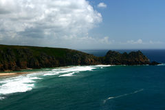 Coast in Cornwall England Stock Photography