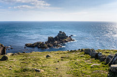 Coast of Cornwall Royalty Free Stock Photo
