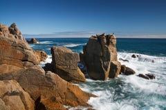 Coast of Cornwall, UK. Royalty Free Stock Photography