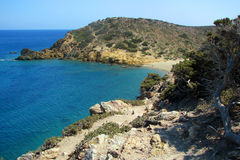 Coast of Crete Royalty Free Stock Images