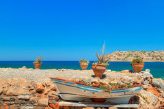 Coast of Crete, Greece Royalty Free Stock Photography
