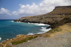 Coast of crete Royalty Free Stock Photo
