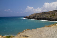 Coast of crete Royalty Free Stock Photos