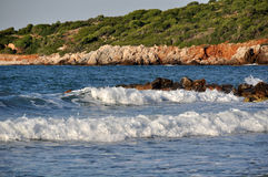 Coast of Crete. Greece Stock Photo