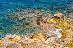 Coast of Crete islan Stock Photography