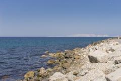 Coast of Crete island Stock Photography