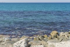 Coast of Crete island Stock Image
