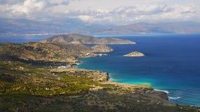 Coast Crete Island Landscape Greece Stock Photography