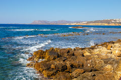 Coast of Crete island Stock Photography
