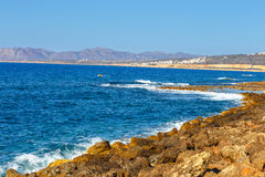 Coast of Crete island Stock Images