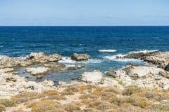 Coast of Crete island Royalty Free Stock Images