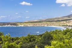 Coast of Crete island Royalty Free Stock Photos