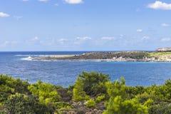 Coast of Crete island Royalty Free Stock Image