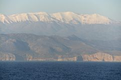 The coast of Crete Stock Photography