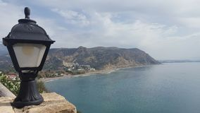 Coast of Crete. View of a the coast in Crete Royalty Free Stock Photos