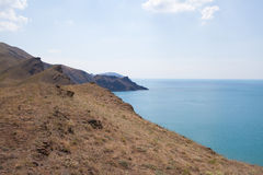 Coast at Crimea Stock Image