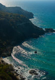 Coast of Crimea Royalty Free Stock Photos