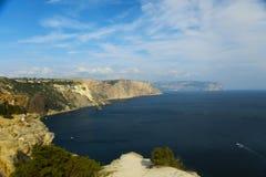 Coast of the Crimea Stock Photo