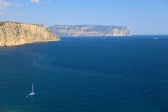 Coast of the Crimea Stock Photography