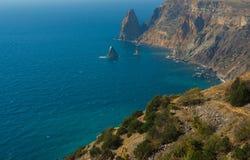 Coast of Crimea Royalty Free Stock Photography