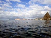 Coast of the Crimean peninsula Royalty Free Stock Photography