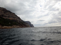 Coast of the Crimean peninsula Royalty Free Stock Photos