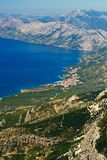The coast of Croatia Royalty Free Stock Image